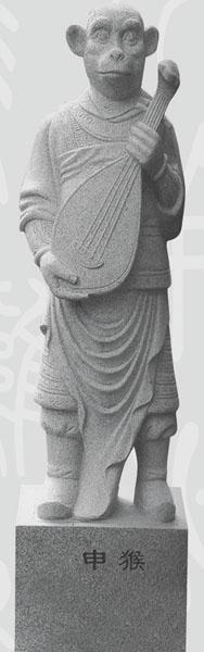 中国福建石雕网-猴