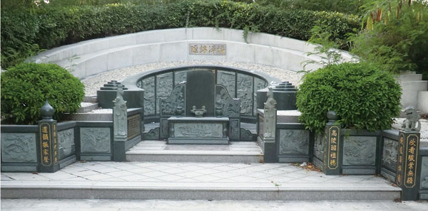 中国福建石雕网-豪华墓碑